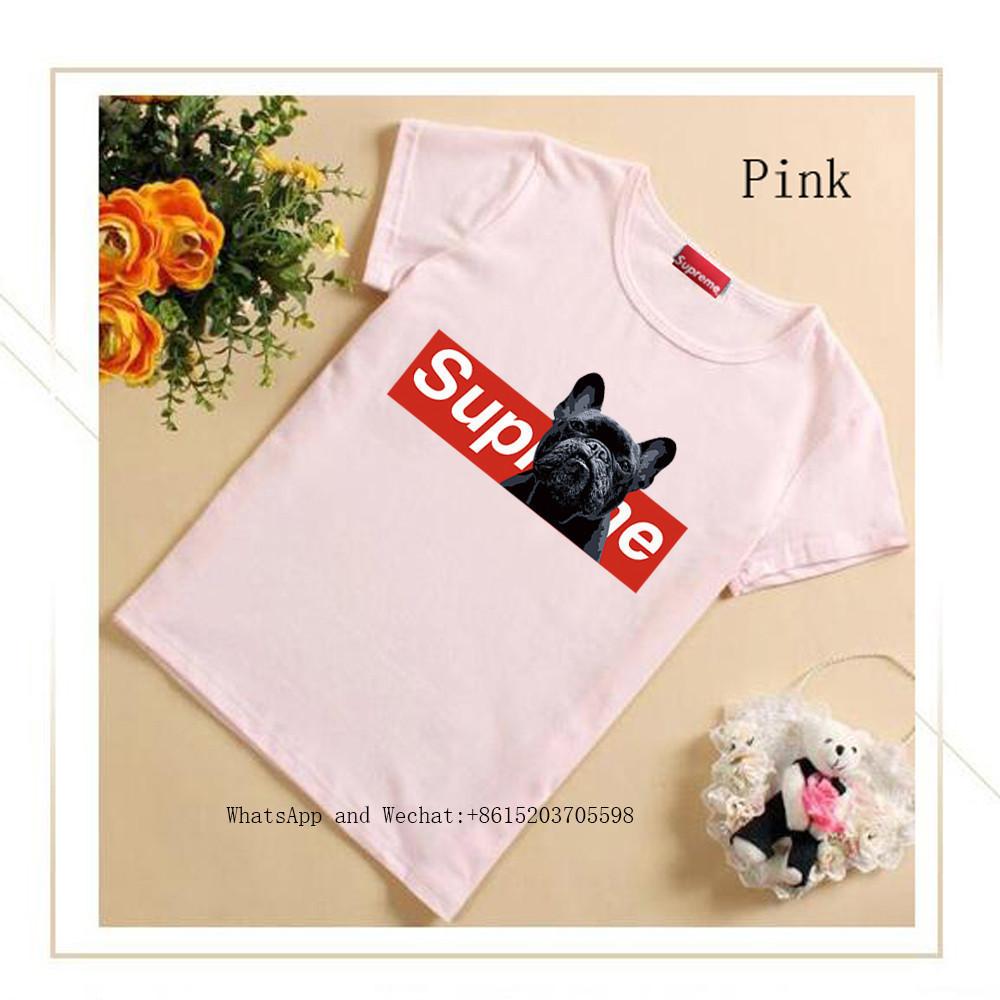 Short Sleeve Dog T Cute T-shirt New Pattern Children's Clothes BINPAW Korean Edition Stripe Children Clothing