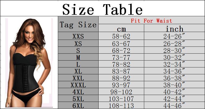 9 Steel Shapewear Shapers il corpo Donna Shaper dimagrimento Cintura Cinta Modeladora Trainer la vita in lattice Cincher T10190615