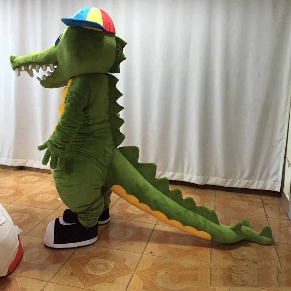 2019 Factory sale hot Adult newest crocodile mascot costume cute crocodile costume for sale