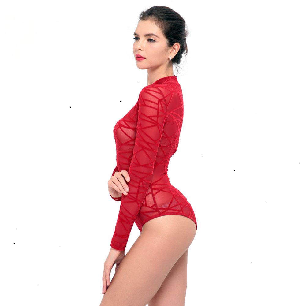 Women-See-Through-Mesh-Sheath-Bodysuits-Rompers-Lady-female-Sexy-Turtleneck-Long-Sleeve-Night-Club-Body (4)