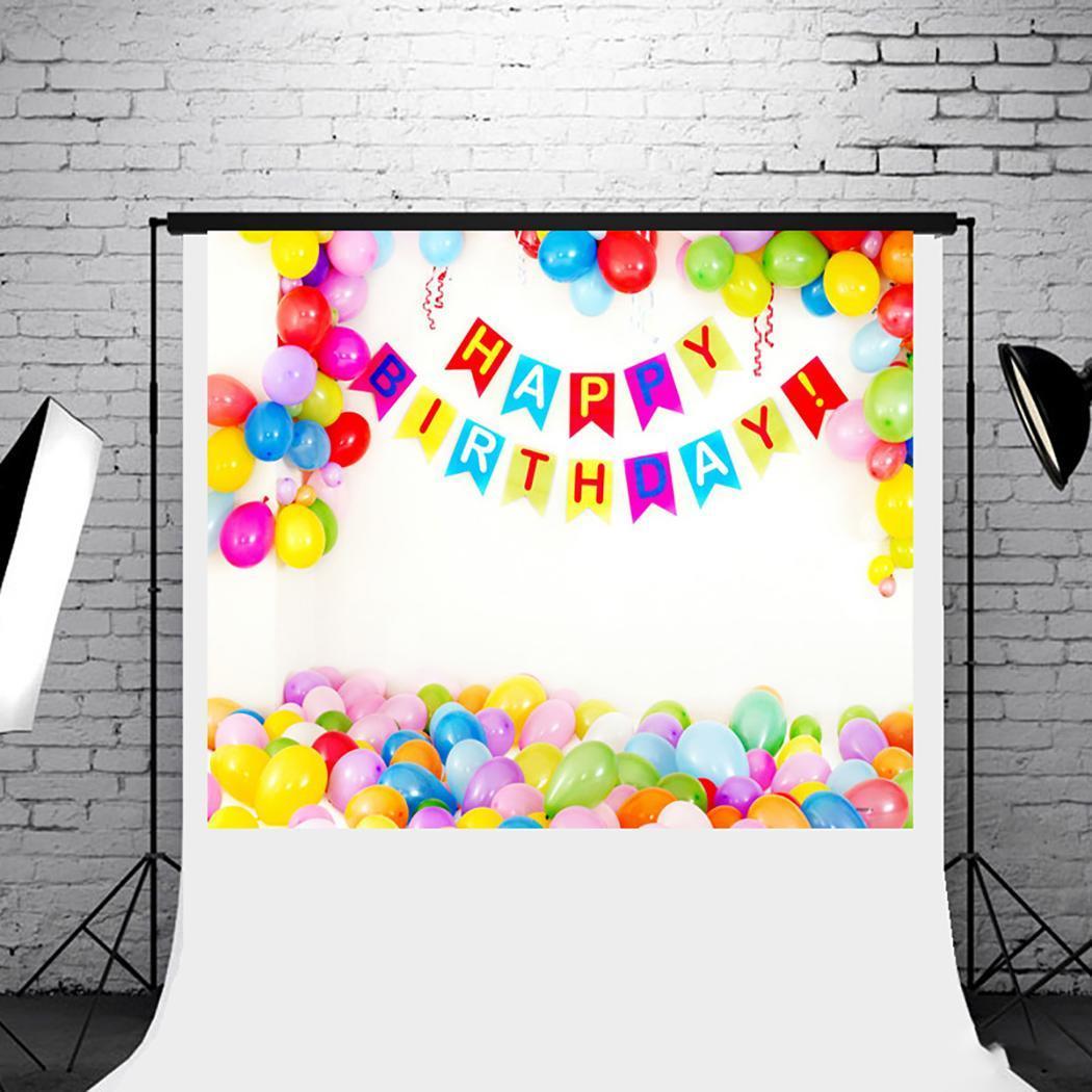 Fashion Birthday Party Thème Photo Toile de fond Studio Vidéo Photographie Arrière-plans Toile Mode Studio Photographie Toile de fond