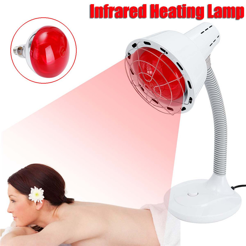 275w 220v Pain Relief Health Bulb Physiotherapy Instrument Massage Health Infrared Heat Lamp Heating Therapy Light Therapeutic SH190727