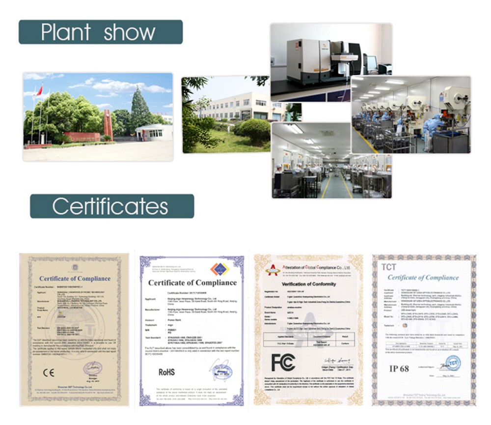 plant and certificate