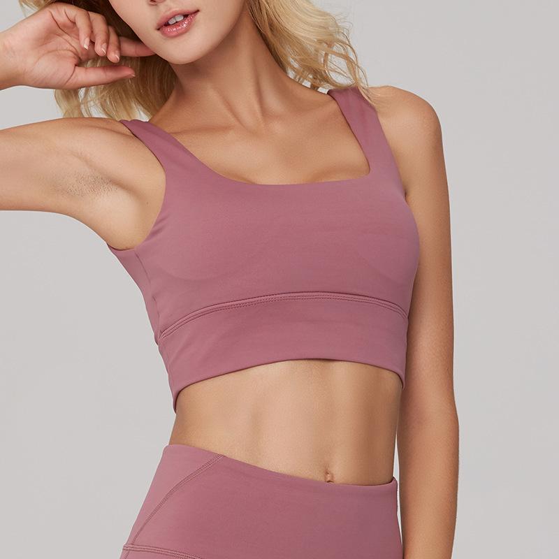 Motion Bras Underwear Woman Run Bodybuilding Broad Shoulders Shockproof Bring Beautiful Back Nothing Steel Ring Yoga Serve Woman Sweat