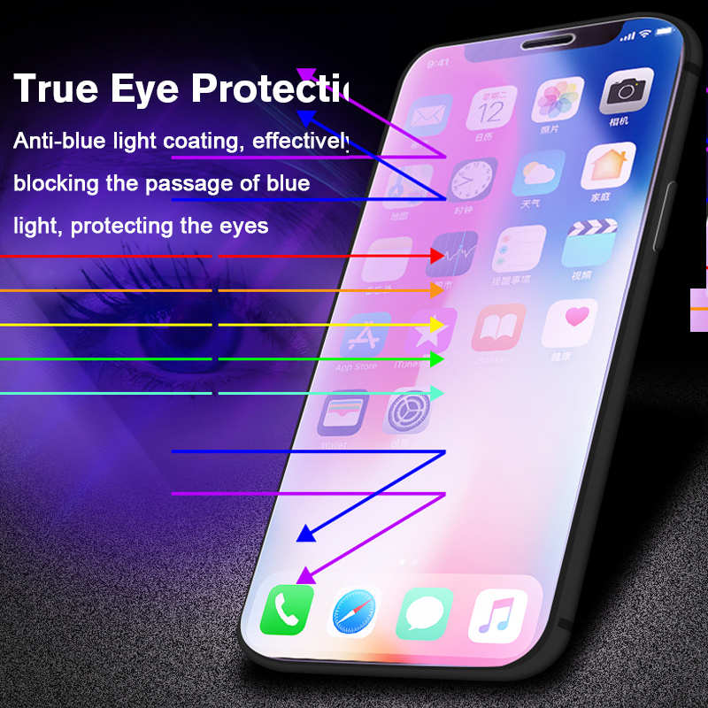 Anti-Blue-Light-Protective-Glass-On-The-for-iPhone-X-XR-XS-Max-9H-Tempered-Glass-(1)