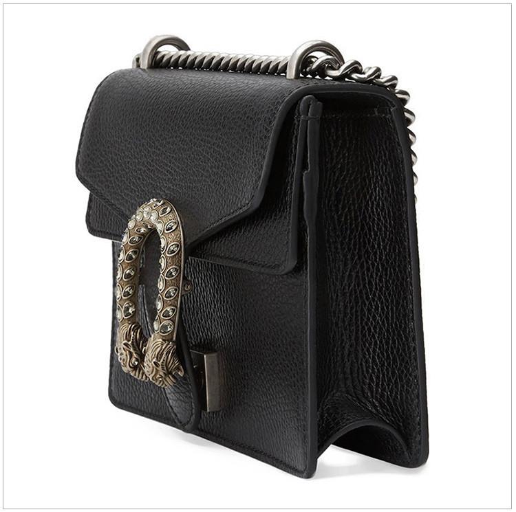 /  Dionysus series women's leather mini shoulder bag Messenger bag Dionysian bag