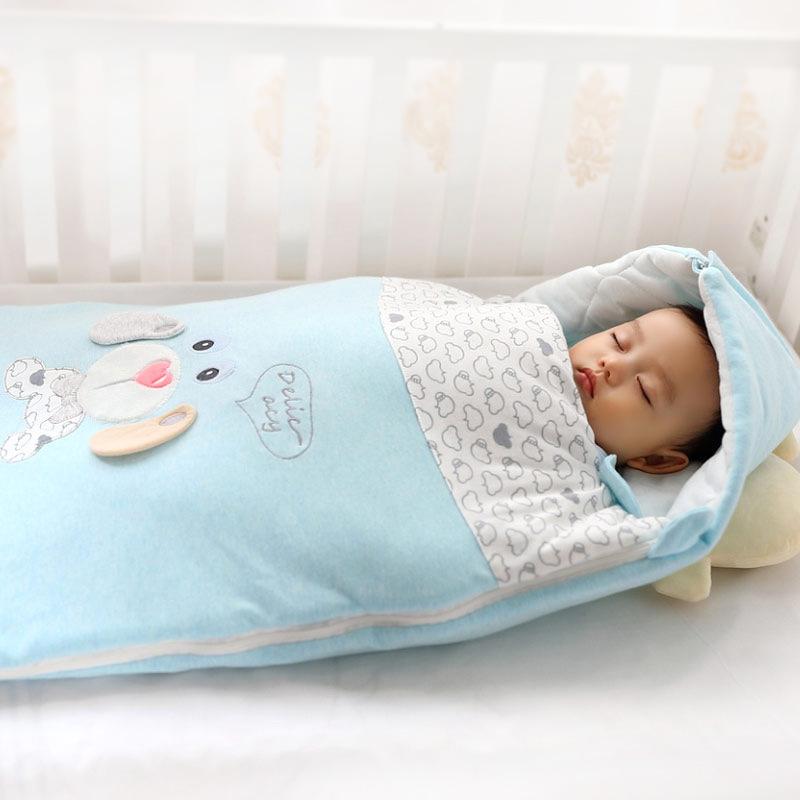 Cap Baumwolle Umschlag Schlaf Sack Bettwäsche Schlafsack Baby Swaddle Blanket