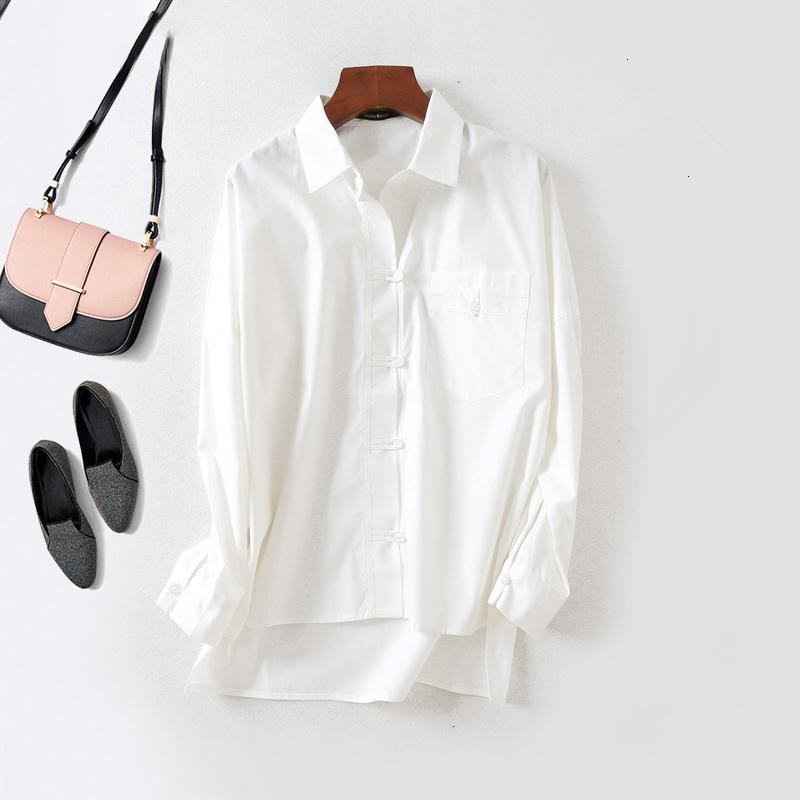 DQQ Womens Cotton Puff Sleeve Slim Fit Button Down Shirt Blouse 2XL Black