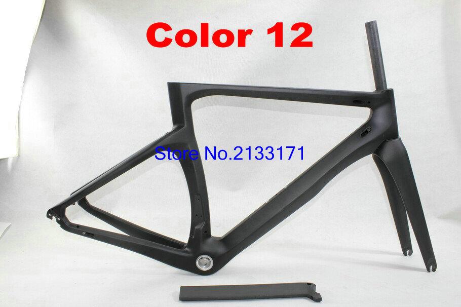 12 Cipollini NK1K 3K Di2 Carbon Bike Frame