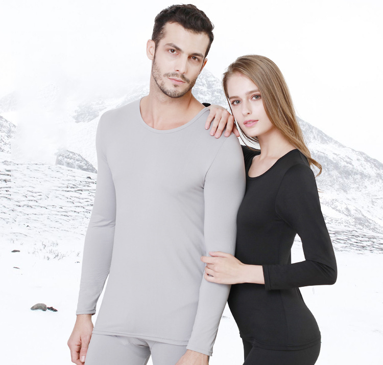Queenral Long Johns For Male Female Warm Thermal Underwear Thermal Clothing Men Woman Winter Plus Size L - XXXL Thermal Suit 12