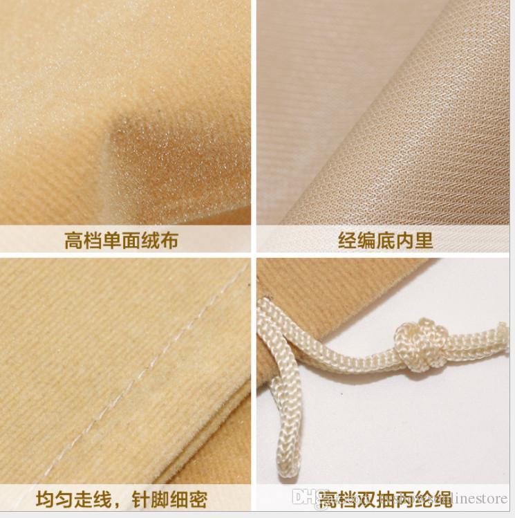 Wholesale Jewelry gift bag pouches velvet bags For Women men stainless steel Bracelet bag Bangle rings necklace jewelry 20*25