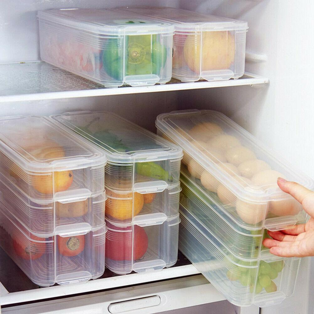 Contenitori Per Organizzare Frigo sconto contenitore di contenitori per alimenti in plastica