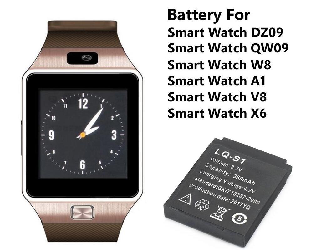 Batterie Smartwatch GT08 batterie rechargeable au lithium avec capacit/é 360MAH