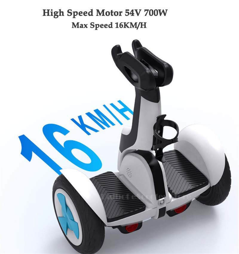 Daibot Electric Scooter Adults Two Wheels Self Balancing Scooters 10 Inch 54V 700W Smart Balance Hoverboard With BluetoothAPP (40)