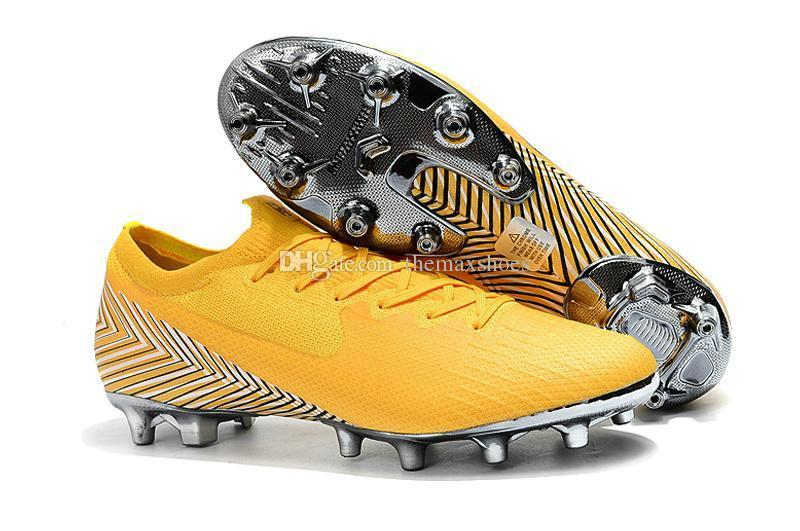 Vi Men Mercurial Superfly Hot 360 Elite Vapor Xii Elite Ag 6 12 Cr7 Cr7 Ronaldo Njr Neymar Soccer Football Shoes Size 39-45