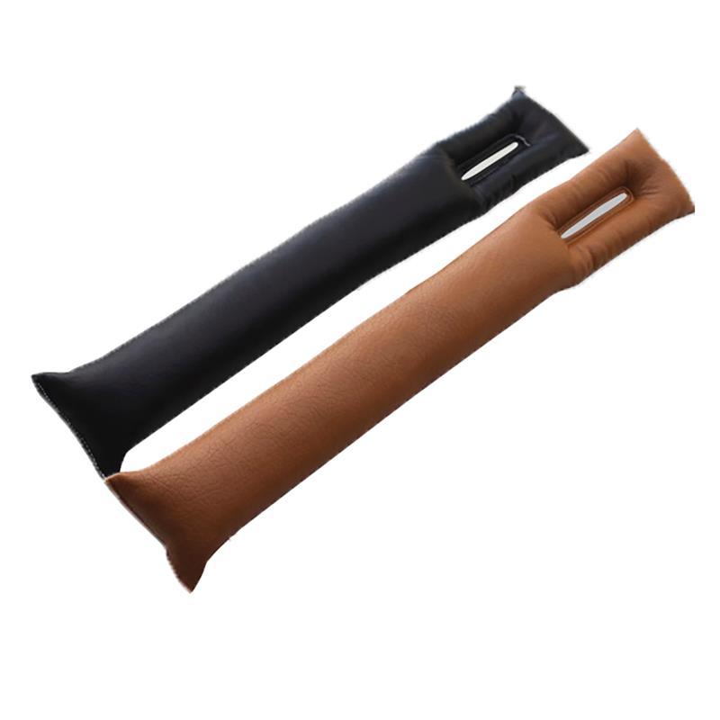 Poches si/èges dauto en cuir PU voiture console Organisateur c/ôt/é avec bouteille Porte-Seat Gap Filler int/érieur Accessoires 1pc