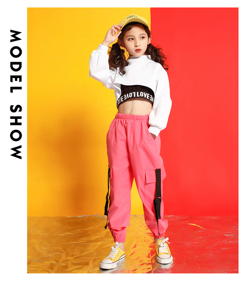Girls boutique outfits 4 6 8 10 123 14 16 18 Years hip hop hoodies sweatshirts kids costumes girls kids summer clothes (6)
