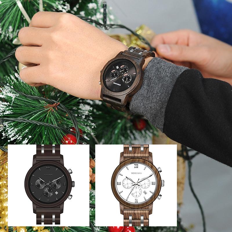 wooden watch for men BOBO BIRD BRAND watches (40)