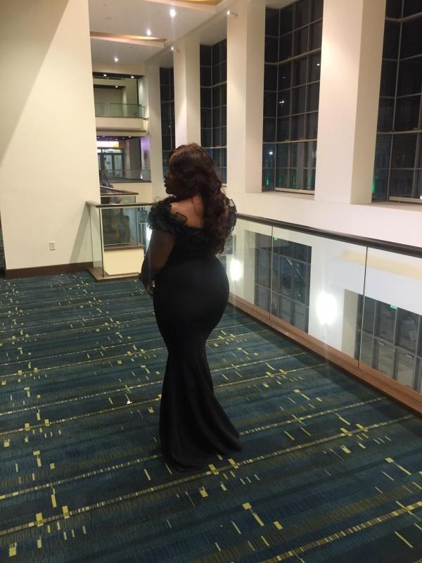 fc1bc17db4 Sexy Women Mermaid Dress 2019 Slash Neck Black Long Maxi Dress Robe Porm  Mermaid Party Dinner Elegant Long Trumpet Dress Q190417 Long Evening Dress  ...