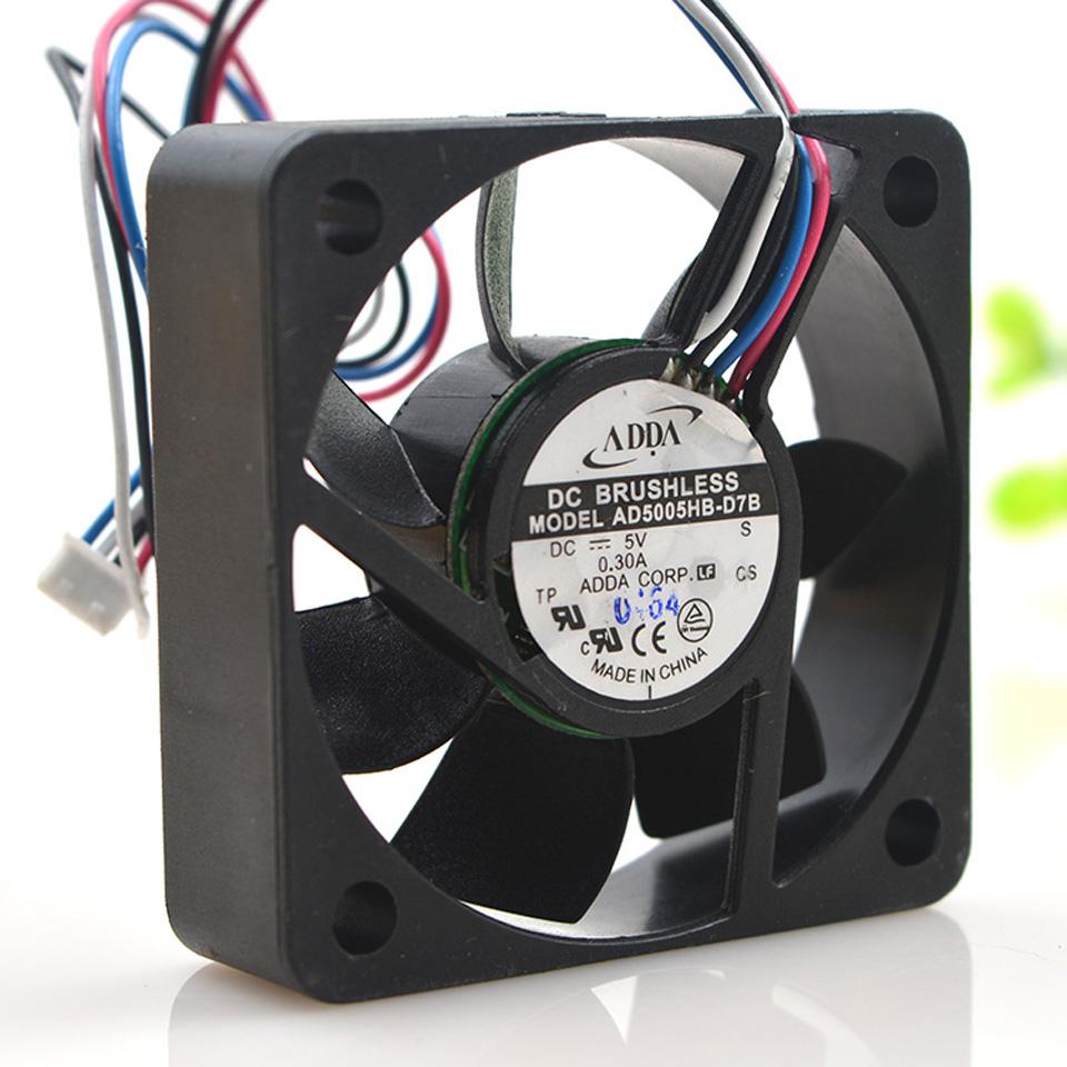 Portable Cooling Fan for ADDA AD0405MB-G72 5V 0.15A 4010 4CM Silent Cooling Fan