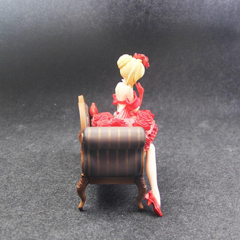 Fate Stay Night Extra Red Saber Nero Claudius Caesar Augustus Germanicus Idol Emperor 20cm Action Figure figurine (8)