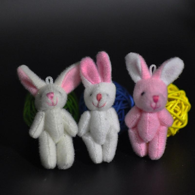 4.5CM Plush Rabbit Bunny 4