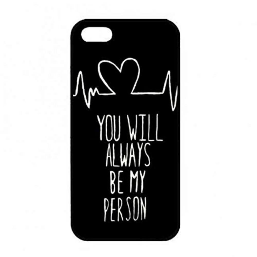 Sen Her Zaman Benim Kişi Olmak Için Telefon Kılıfı Iphone 5c 5 s 6 s 6 artı 6 splus 7 7 artı Samsung Galaxy S5 S6 S6ep S7 S7ep