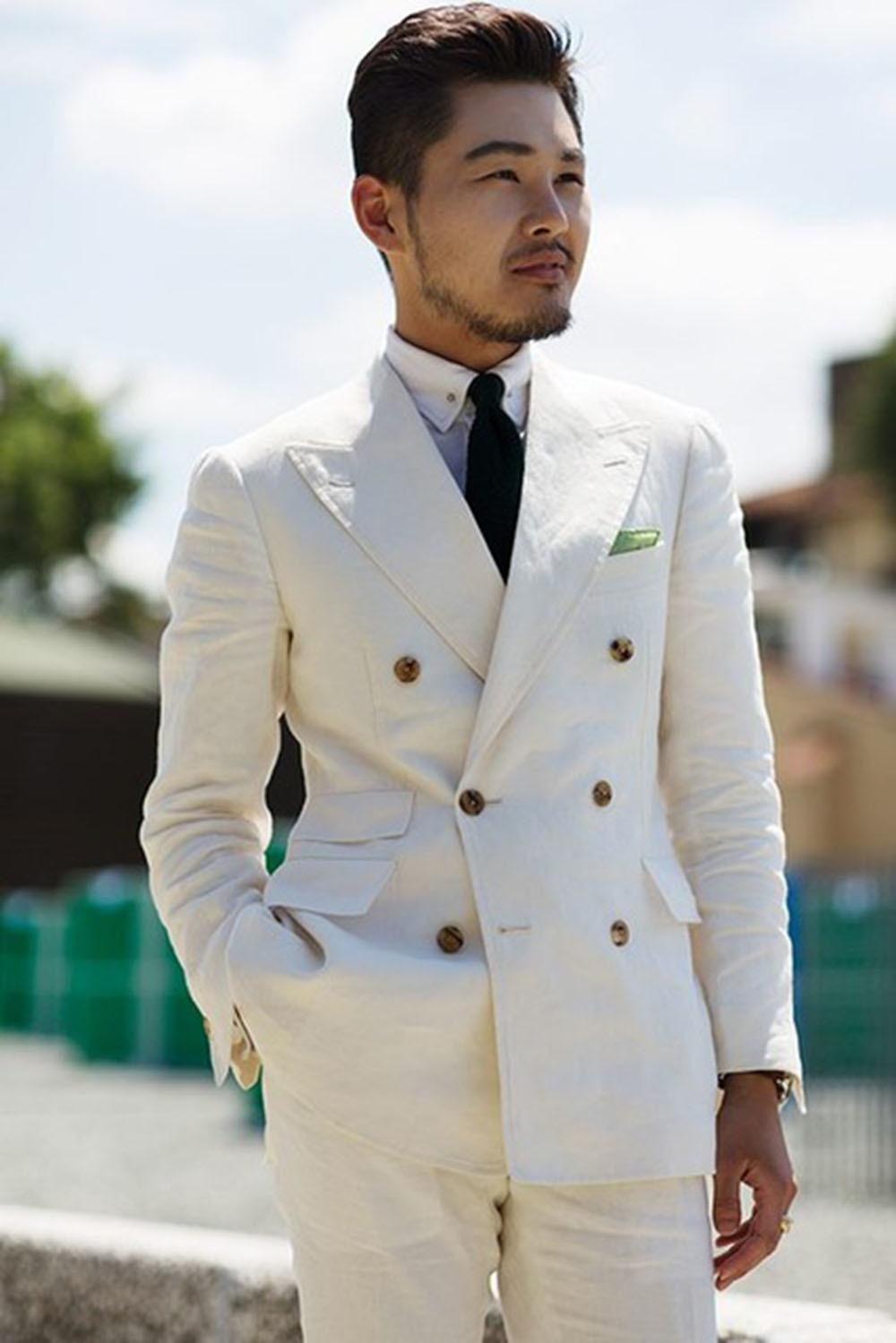 Latest-Coat-Pant-Designs-Ivory-Men-Suits-Double-Breasted-Men-Suit-Slim-Fit-2-Piece-Beach