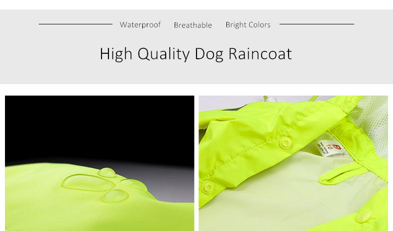 Dog Rain Coat (5)