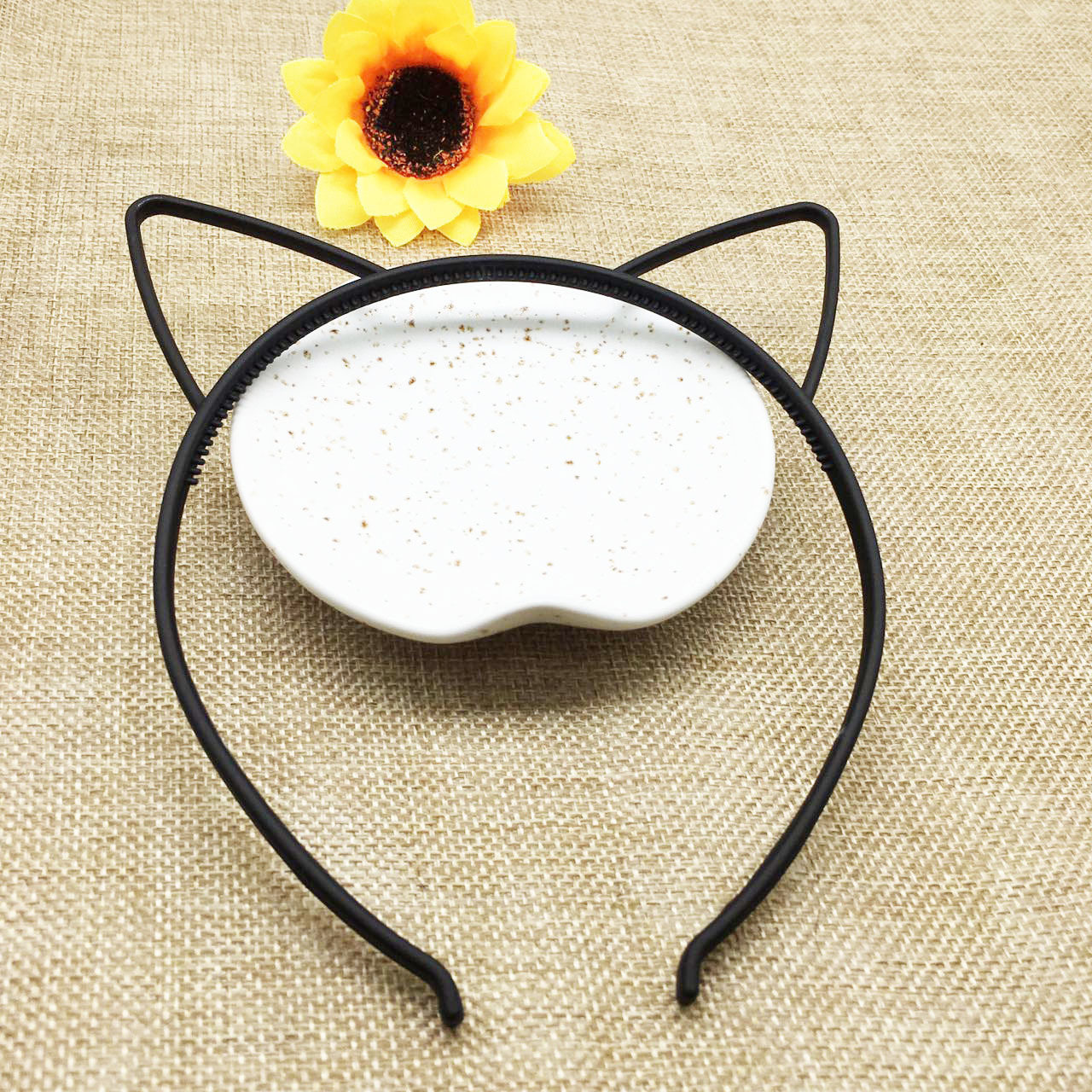 Kids Black Cat Ears Head Bands Fashion Lady Girl Hairband Self Headband Baby Birthday Party Hair Accessories For Women Hoop