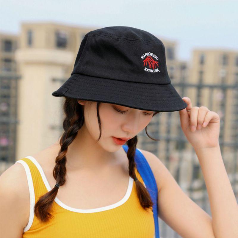 Women Avocado Bucket Hat Men Outdoor Fishing Caps Child Panama Hat Sun Cap HF