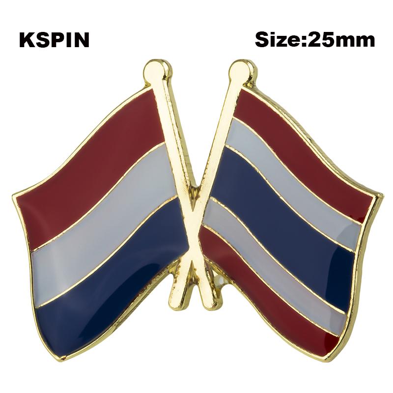 Union Jack y Stars /& Stripes-Amistad Pin de Solapa Alta Calidad UU Reino UNIDO//EE