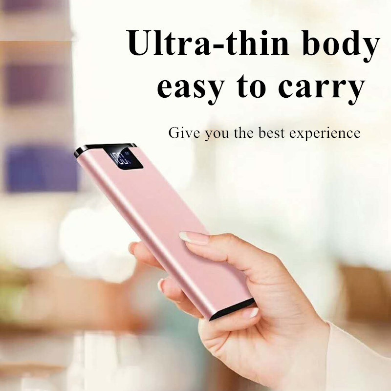 Power Bank 10000 MAh Водонепроницаемый портативный для всех смарт-телефона аккумулятор POWERBANK Быстрый зарядки 3.0 Внешний аккумулятор Двойной USB
