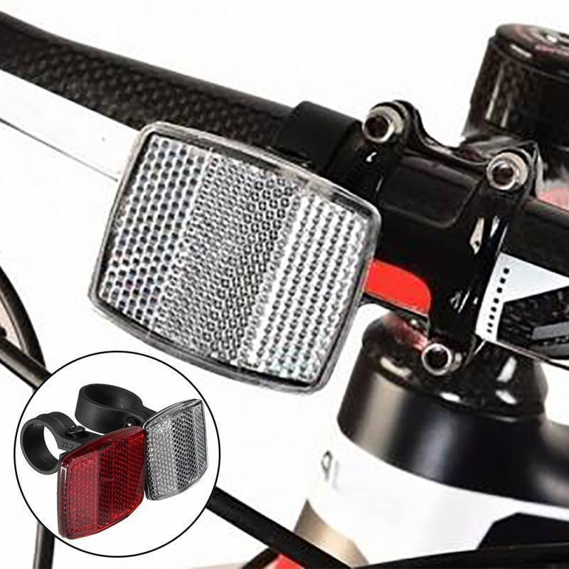 2 Stücke Rennrad Fahrrad Reflektor Radfahren Pfeilform Sichere Warnung Zubeh  bD