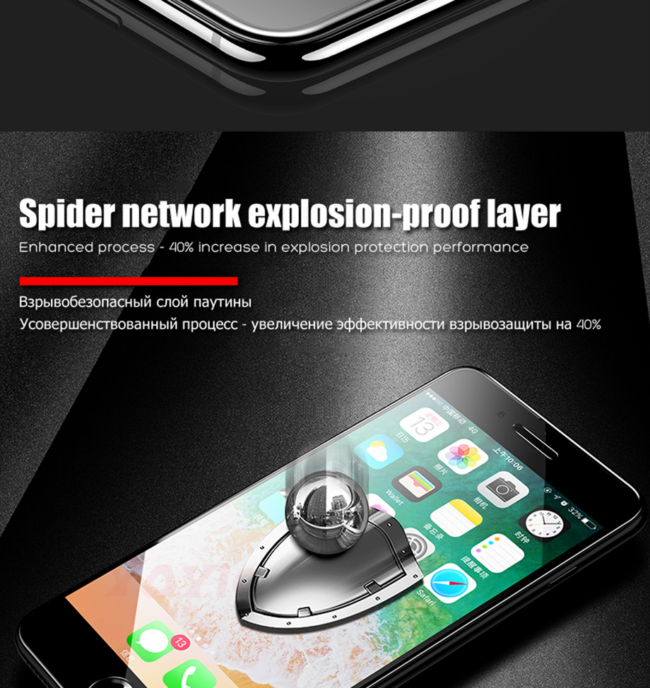 12 For iPhone 6 6s Glass for iphone 6 6s plus glass for iphone 7 glass for iphone 7 plus glass for iphone 8 glass for iphone 8 plus glass for iphone x glass screen protector