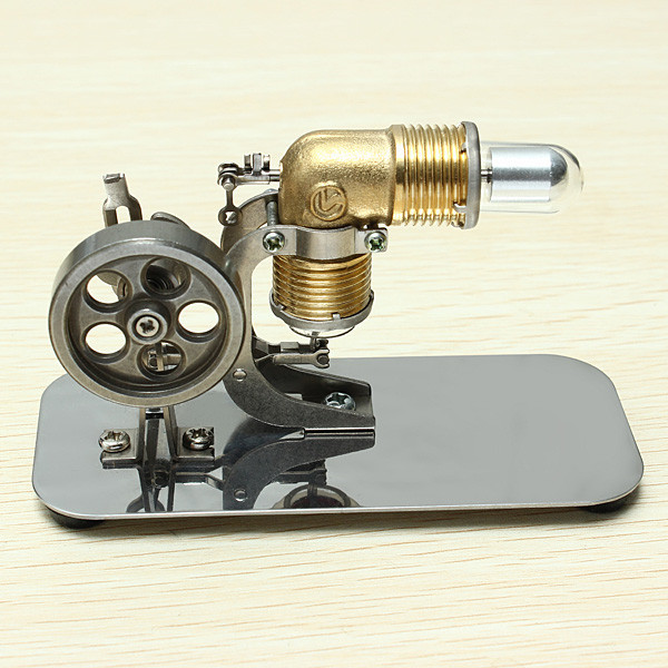 Stirling engine birthday present Mini model puzzle Scientific experiments equipment High temperature physical toy7