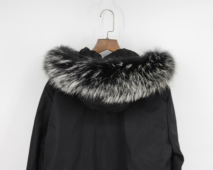 genuine raccoon fur hoody trim collar (6)