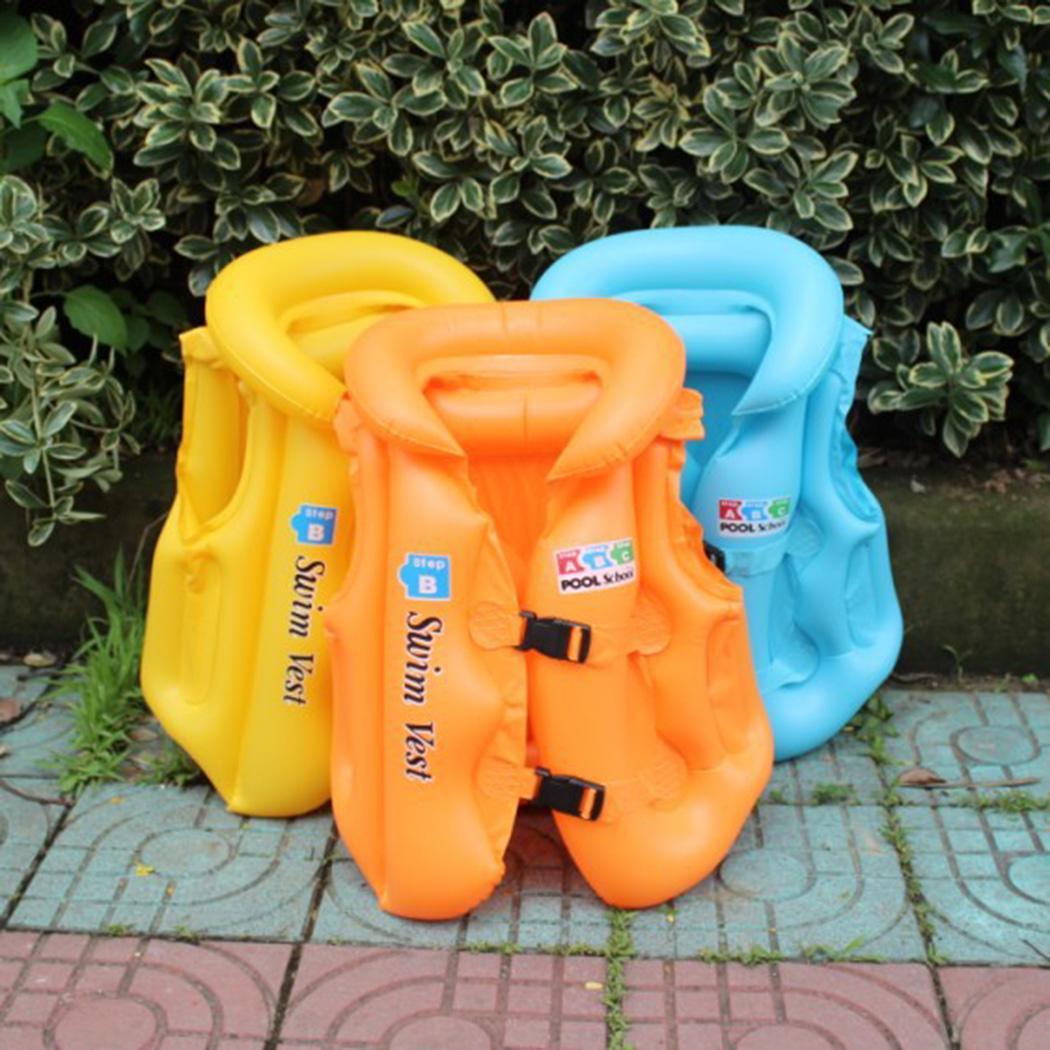 Giubbotto di salvataggio dell'anello di nuoto del PVC della maglia gonfiabile del costume da bagno gonfiabile dei bambini di modo Giacche di vita di modo giubbotti