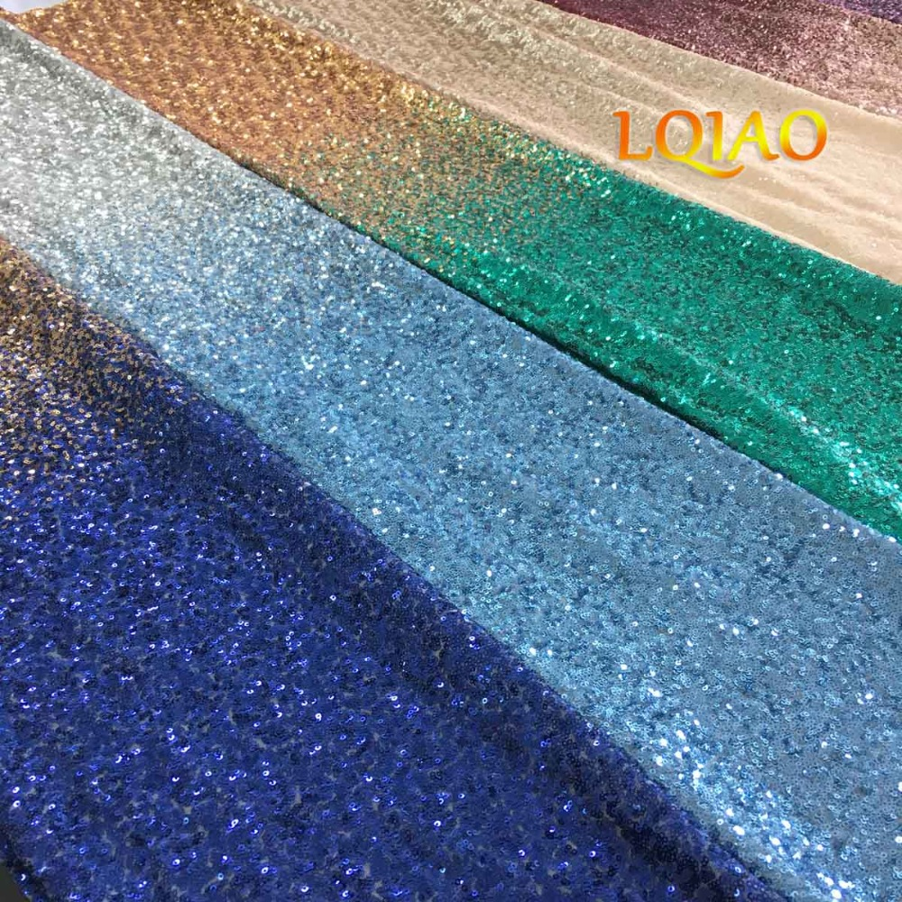 Mix Sequin Fabric Color Card-001