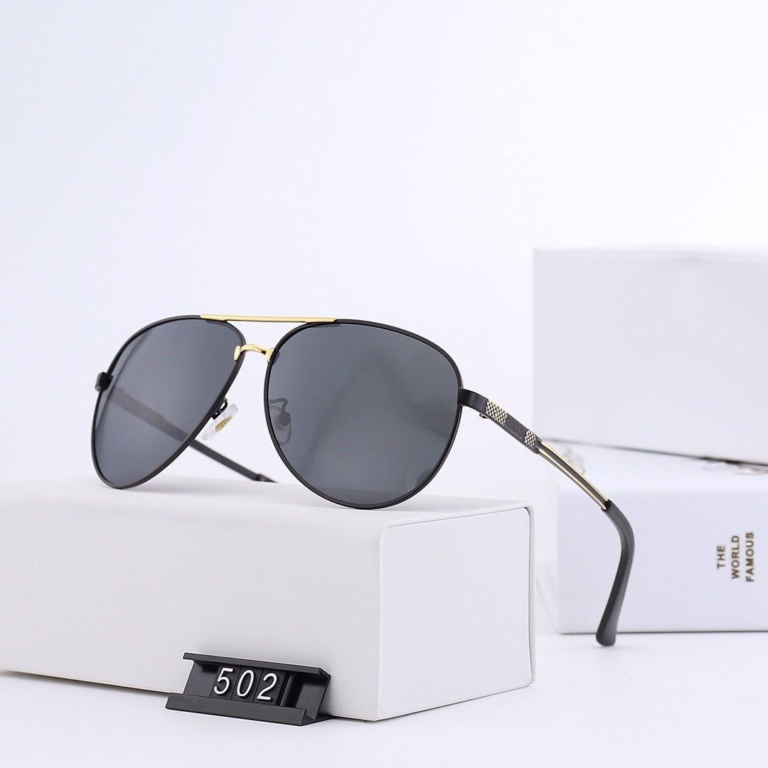 2019 Sonnenbrille neue Luxusmarke Herren polarisierte Audi Brille mit Box