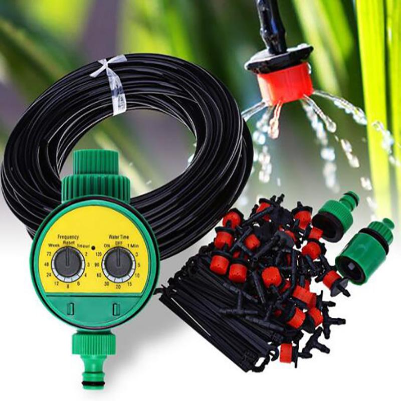 DIY 30M Automatisch Bewässerungssystem Micro Drip Bewässerung Gartenpflanze DE