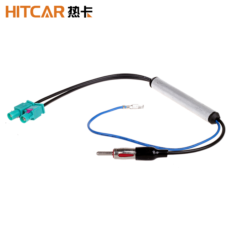 FEELDO Car Radio Wire Cable Harness for TOYOTA Female Connector Antenna Adapter SKU:4796