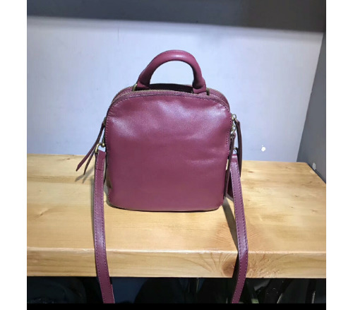 Lucky2019 Rindsleder Layer Head Single Shoulder Span Packet Frauen Square Package Dame Umhängetasche Handtasche Small Bag