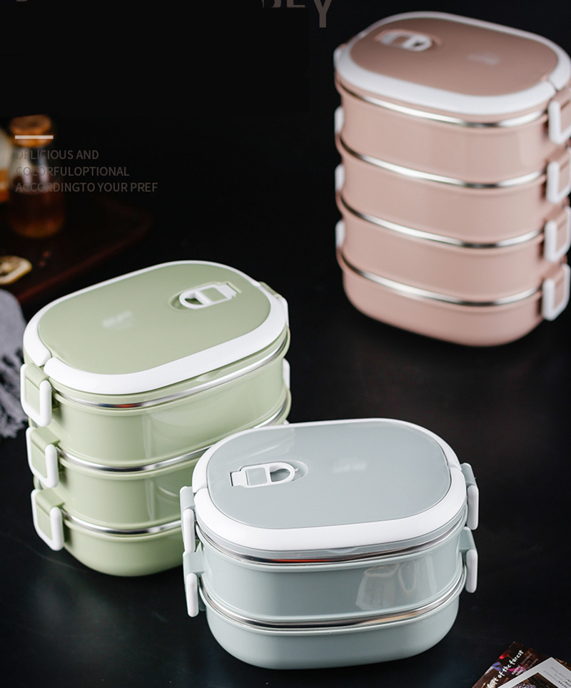 304 stainless steel insulated lunch box23