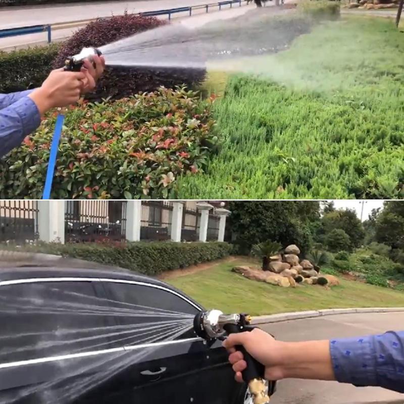 Multi-functional High Pressure Garden Water Gun Car Washer Water Jet Hose Nozzle Sprayer Watering Spray Sprinkler Cleaning Tools