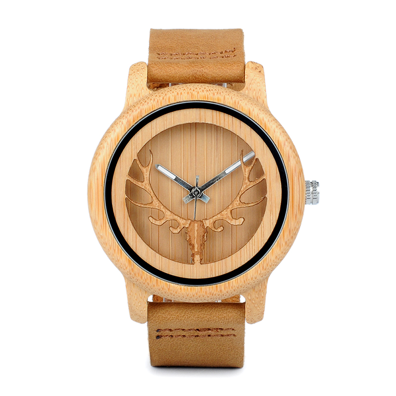 watch bamboo wood men watchA27