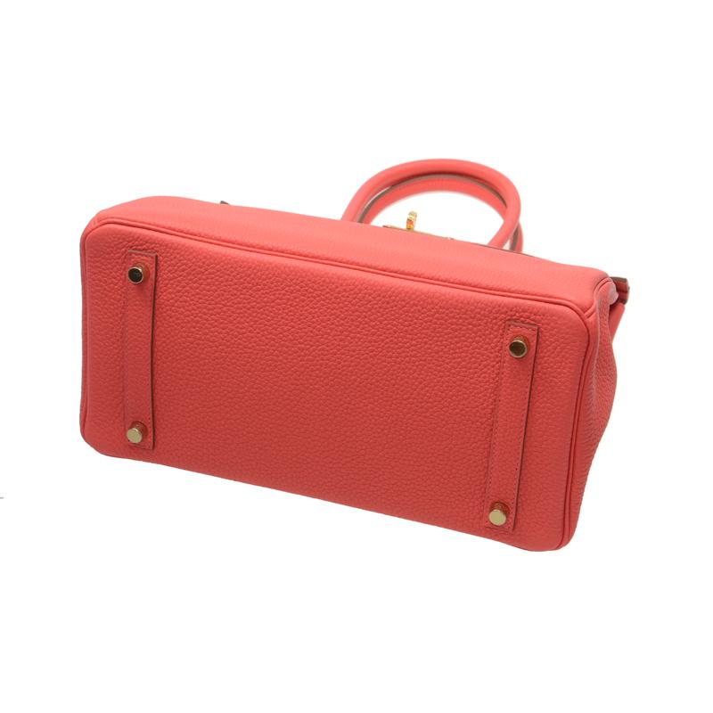 /  handbag BIRKIN 30 T5 ROSE JAIPUR TOGO GP TOGO pink BK30T5TGGP-BA9907