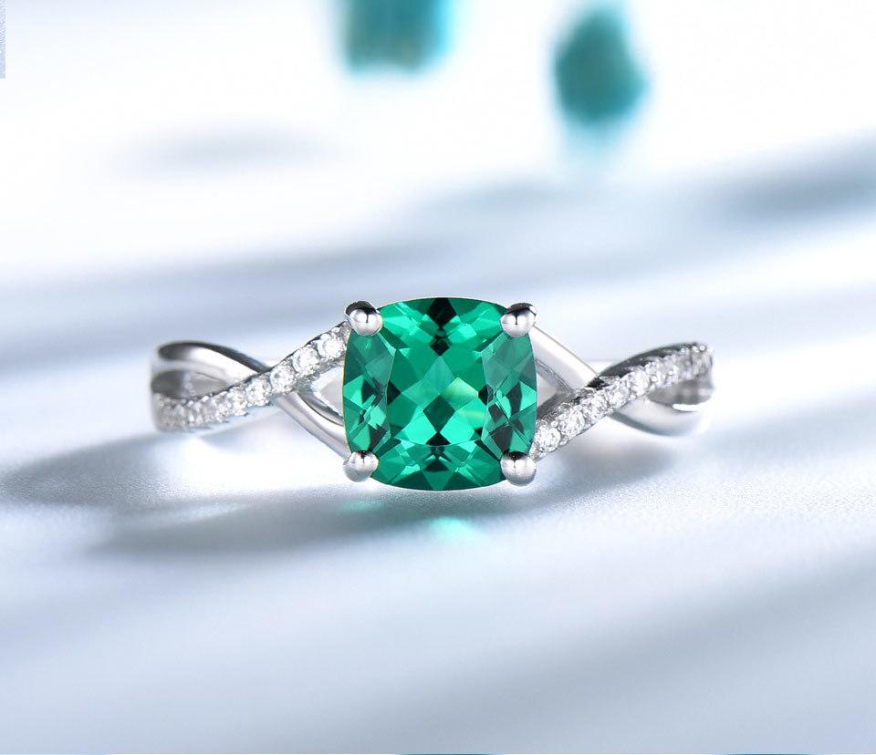 UMCHO-Emerald-925-sterling-silver-rings-for-women-RUJ086E-1-pc_04