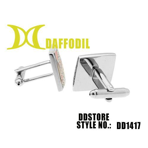 Hot sale new cuff links mens jewelry shirts cufflink for men painted with high quality DD1417