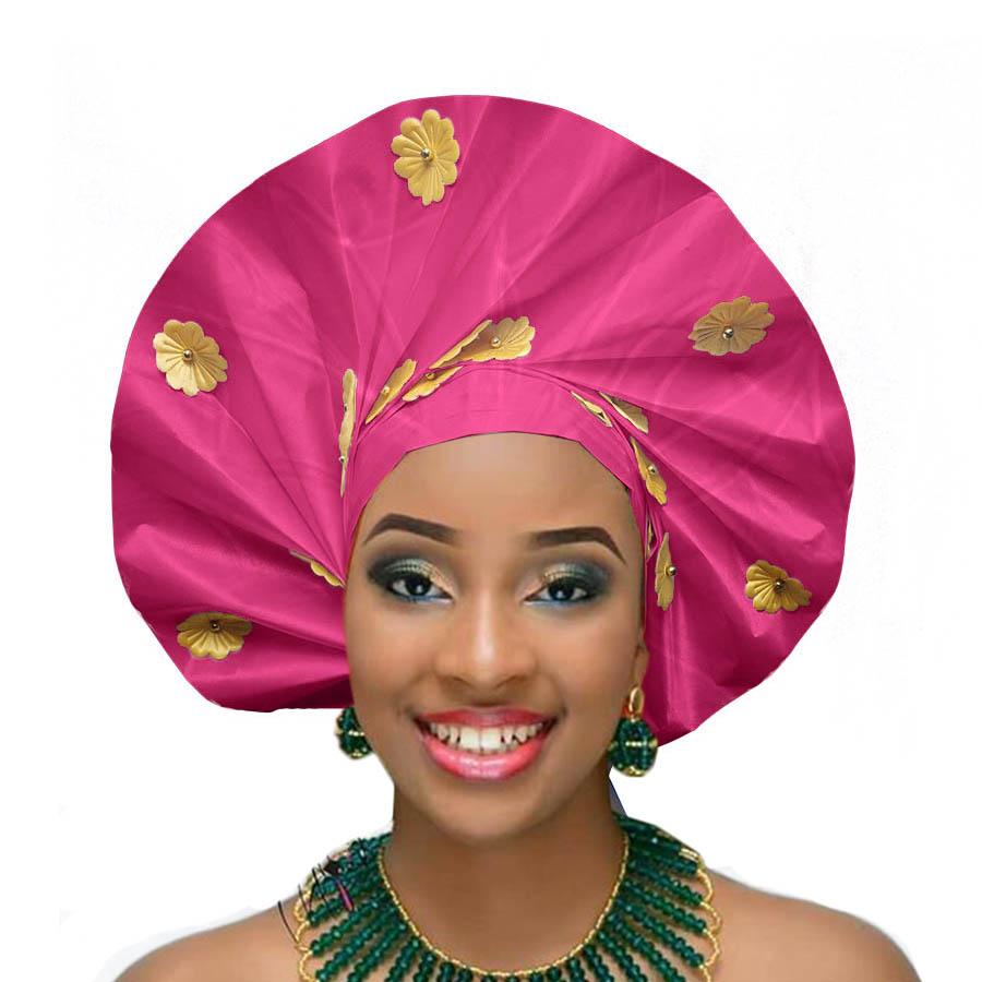 2018 african headtie wraps aso oke gele nigerian headwear asobi headdress african turban (6)